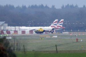 Artikel omtrent drones nabij de luchthaven van Gatwick