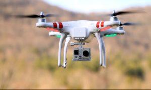 Artikel omtrent een verloren drone in Sint-Niklaas